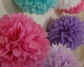 50 poms - choose your colors