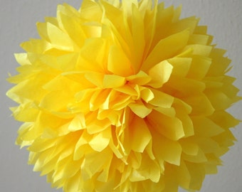 Buttercup .. Tissue paper pom party decoration