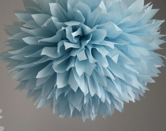 Ash blue - one pom