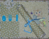 On-The-Go Picnic placemat set
