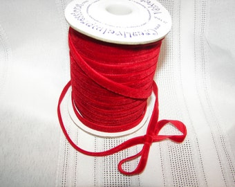 RED VELVET Ribbon by Creative Expressions