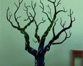 Wall Art Home Decor Vinyl Murals Decals Stickers---Old Tree