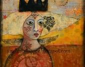 Evolution- 8x8 fine art print