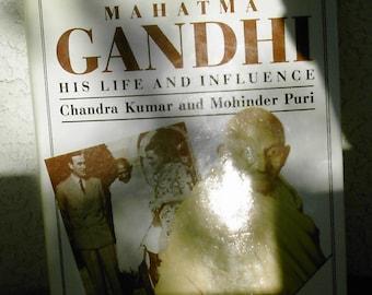Mahatma Gandhi hardcover book by Kumar and Puri