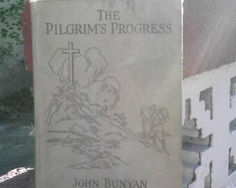 1923 hardback edition Pilgrim's Progress by John Bunyan