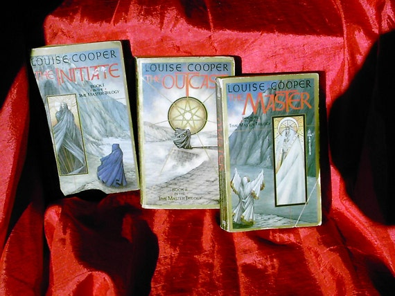 Louise Cooper's Master Trilogy all three volumes in paper back