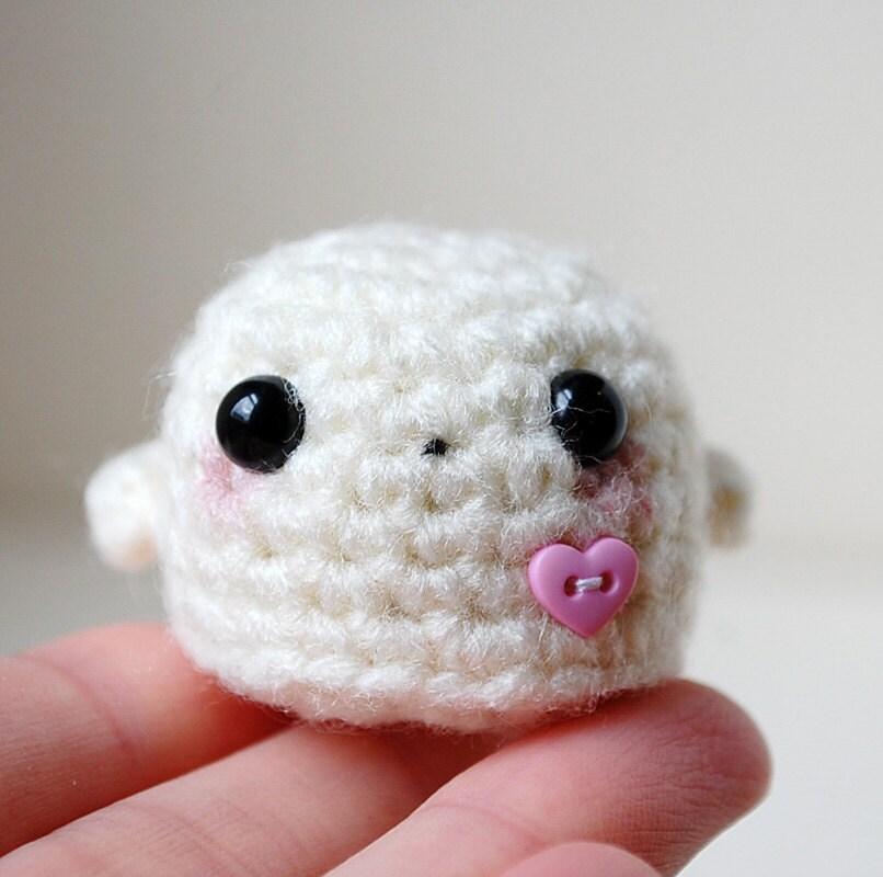 Crochet Amigurumi Ghost : RESERVED Listing Kawaii Ghost Mini Amigurumi