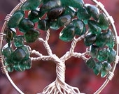 Tree of Life Pendant - Summer - Aventurine