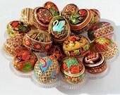 Order a Custom Ukrainian Easter Egg - Traditional Ukrainian Chicken and Goose Easter Eggs - Custom designed specially for you.