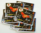 sending love (postcard set of 10)