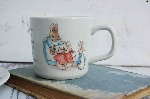 Beatrix Potter's PETER RABBIT Mug, Plate & Bowl Set Wedgwood