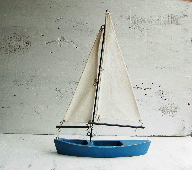Vintage Toy Boat 87