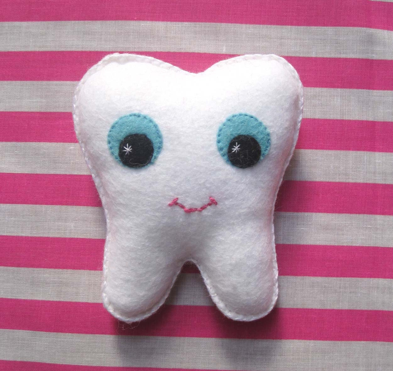 Sale Mr Happy Felt Tooth Plush Toy 30% Off With Code
