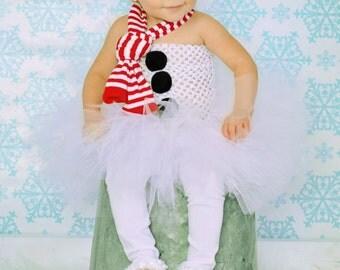White Christmas Baby Leg Warmers