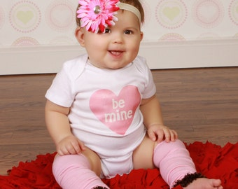 Pink and Brown Valentines Day Baby Toddler Leg Warmers