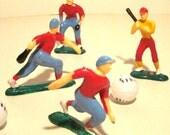 Baseball Team Cake Topper Set of 7