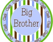 NEW...Big Brother, Middle Brother, or Little Brother Personalized Shirt- The Clark Design- Sister tee available