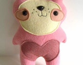 Cotton Candy - The Little Valentine Bear - Limited Edition - Made to order