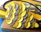 Woodland Owl Wing Headband - Dijon Mustard - Made to order