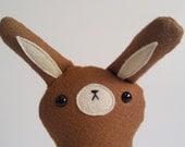 Stuffed toy bunny, plush bunny, stuffed bunny toy, plush rabbit toy, rabbit plushie, plush woodland bunny, Coco
