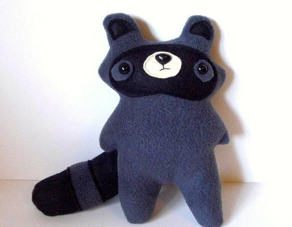 RESERVED FOR WAYSIDEVIOLET- Reginald - The Little Raccoon - Made to order