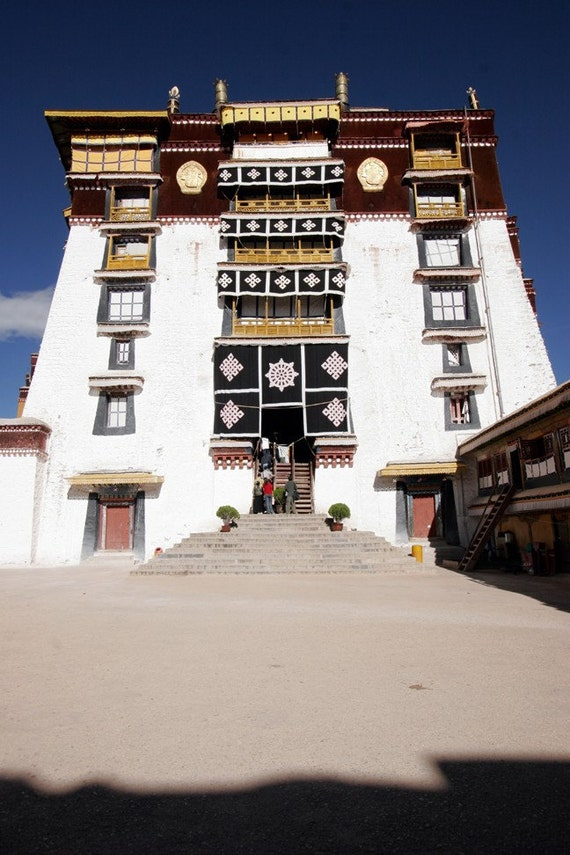 Potala Palace, High Temple, Tibet