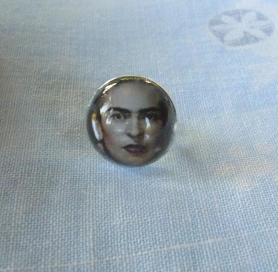 Frida Kahlo Dome Ring