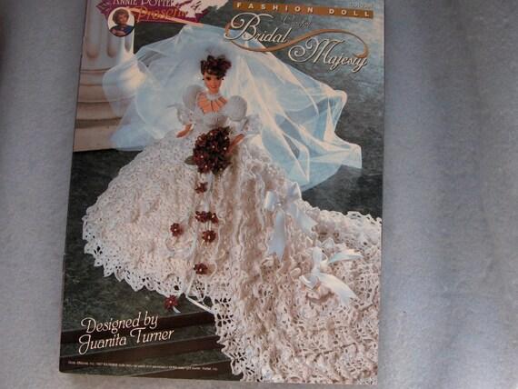 Crochet Pattern Wedding Doll : FASHION DOLL crochet pattern BRIDAL MAJESTY by GransTreasures