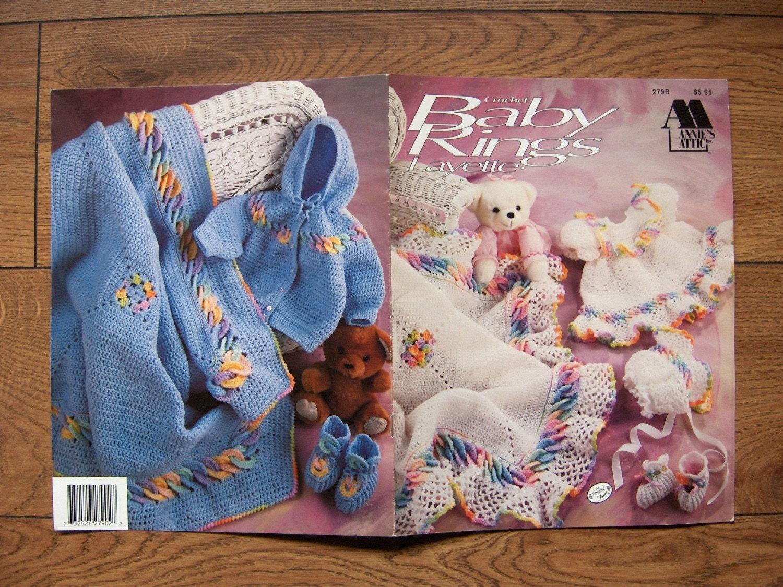 1992 Crochet Pattern Baby Rings Layette Girl S By