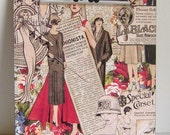 Vintage Fashion Inspired Clipboard - Tre Chic