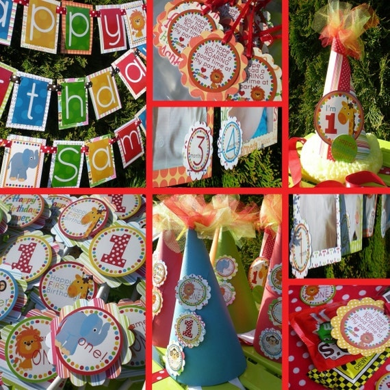 Jungle Birthday Party Decorations Package Fully Assembled