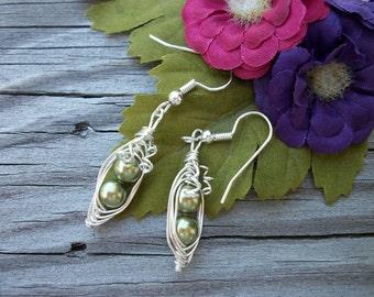 Two Peas In A Pod Earrings