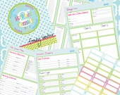 Organizational Family Binder Printables