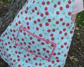 Sweet Cherry Reversible Children's Apron