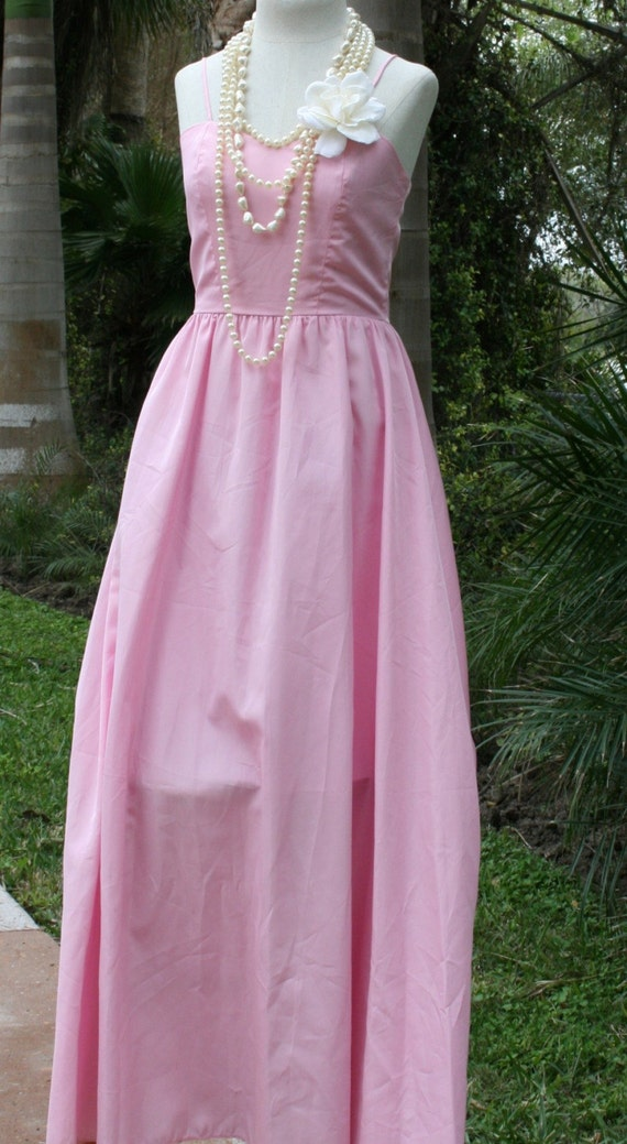 I Like to Lead When I Dance - The Perfect Pastel Pink Dress - Formal - Wedding - Bridesmaid
