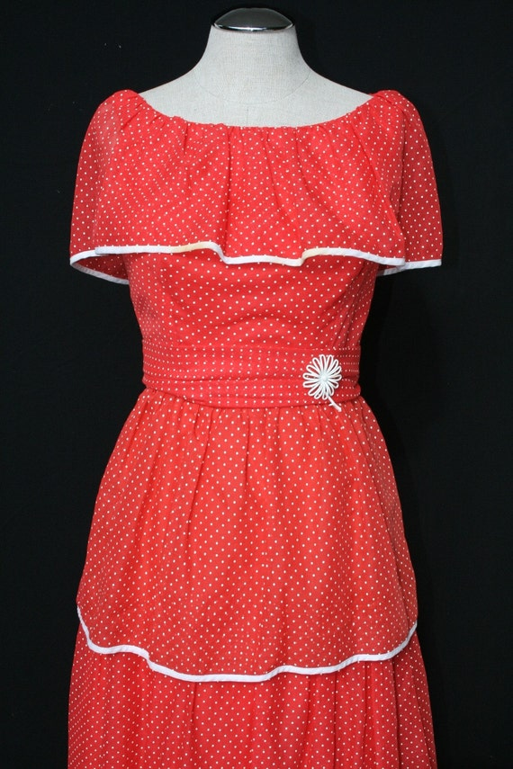 HOLD for Con - The Day the Circus Came to Town - Layers and Layers of Darling Miss Elliette - 1960's Party Dress