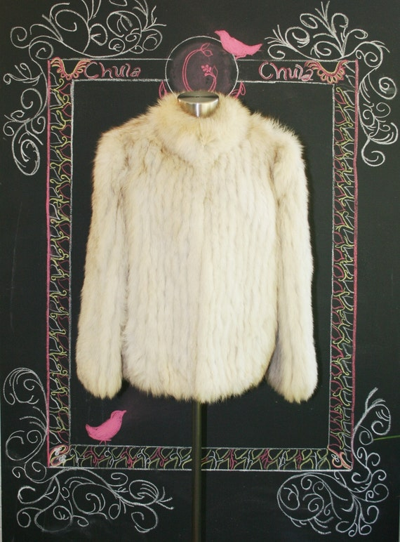 Ooooo  Foxy Lady - Fox Fur Coat - by Saga Fox