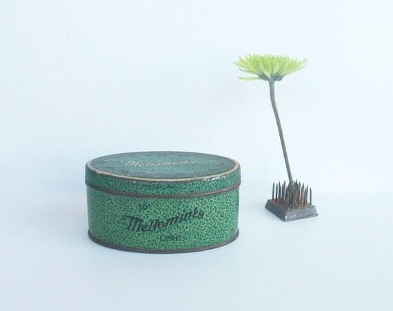 Vintage Mellomints Candy Tin, Brandle Smith Co., Philadelphia, PA