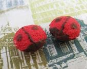Scale 1:6 Miniature Cupcakes - Ladybug