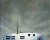 trailer painting print