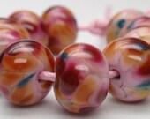 Funny Fritts - 10 handmade lampwork beads F 24