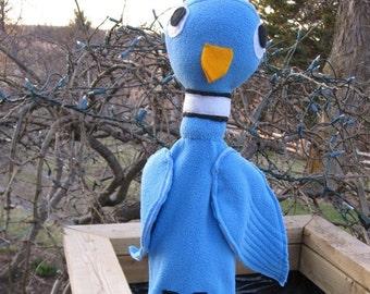Pigeon Drives the Bus Hand Puppet Storybook Pigeon Puppet/ Blue Bird Puppet