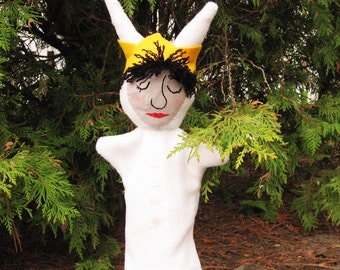 "Hand Puppet ""Where the Wild Things Are"" - Max Puppet/ Storybook Character"