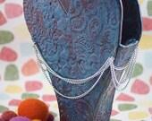 Art Pottery Funky Heart Vase