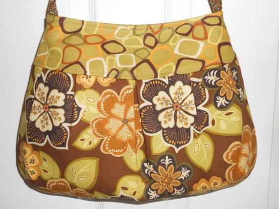 The WILLOW Purse.... Large Pleated - Square Bottom Style