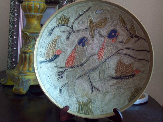 Decorative Bird Plate