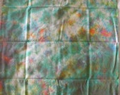 Quilters Fat Quarter, Hand Dyed Fabric