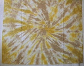 Quilters Fat Quarter of Fabric, Artisan Cotton Tiedye