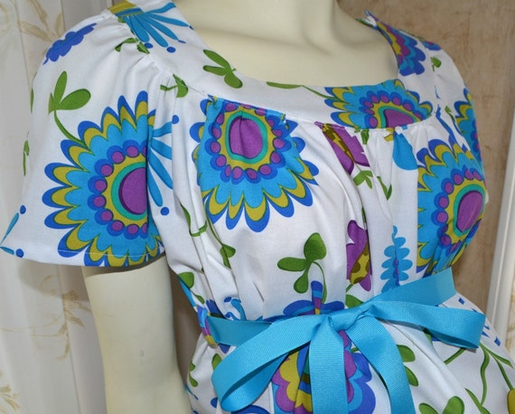 Hospital Maternity Gown/Designer Michael Miller Fabric/Trendy Style pictured/CUSTOM made just for you