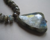 SALE Glorious Gray Necklace